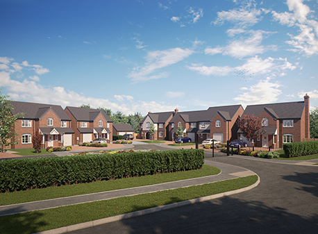 Luxury homes development set to launch in Rugeley image