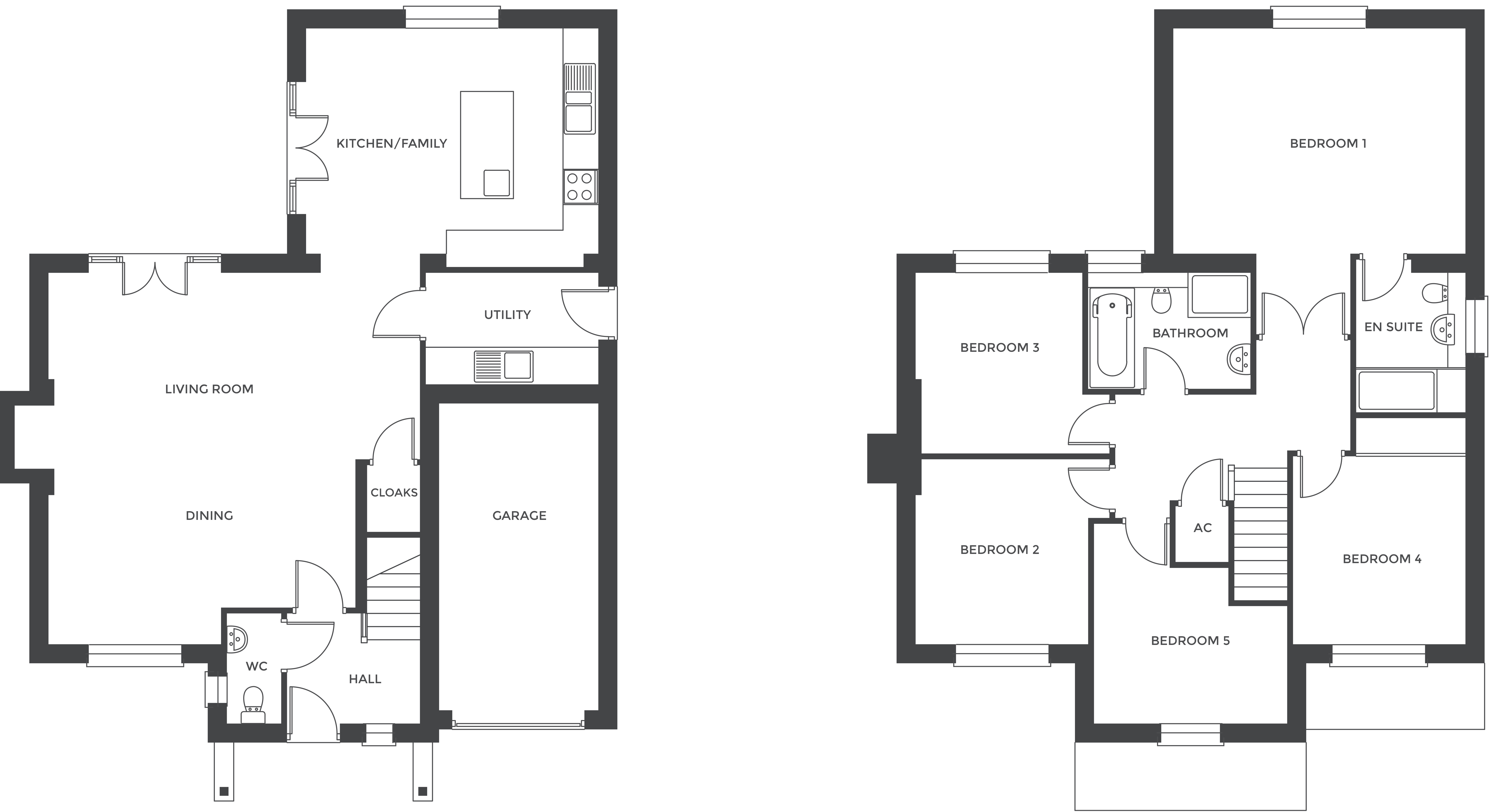 Hathorn Manor, Plot 5 floor plan