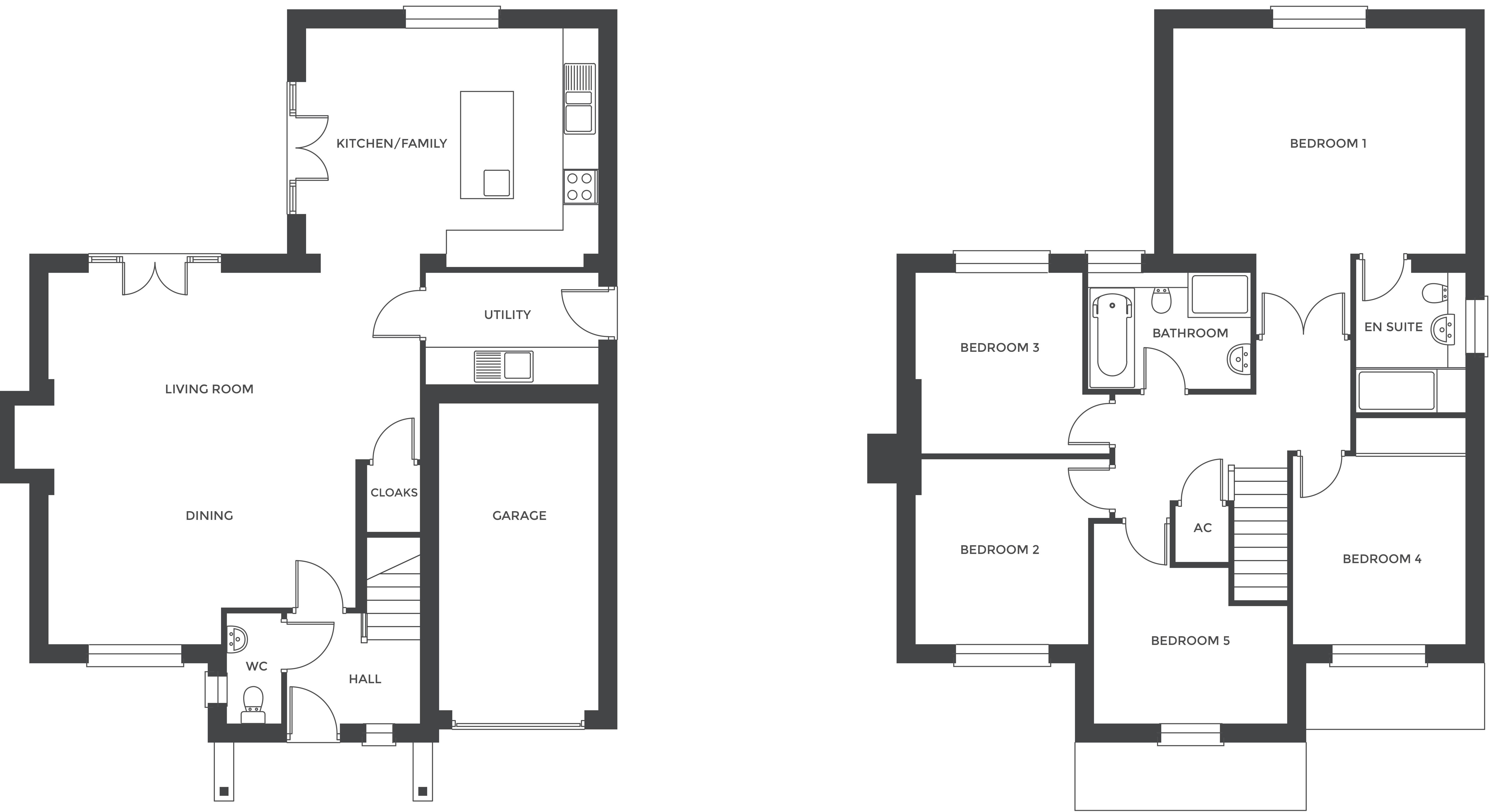 Hathorn Manor, Plot 9 floor plan