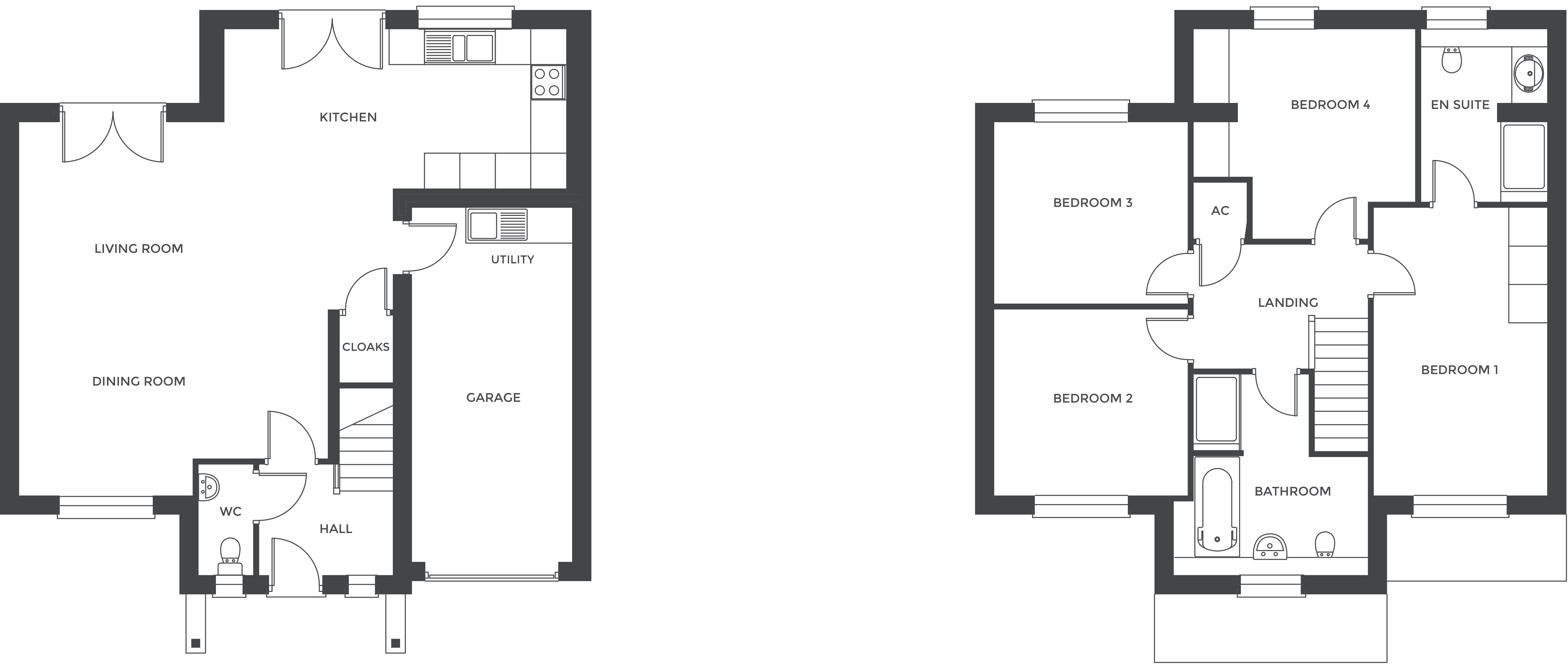 Hathorn Manor, Plot 6 floor plan