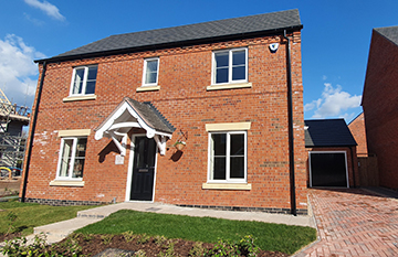 Benefit from the Stamp Duty Holiday and Help to Buy with the final two homes in Swadlincote! image