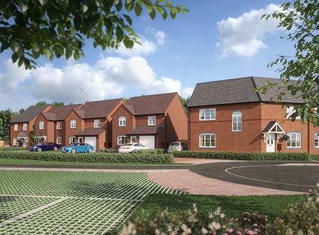 Work is underway at Walton Homes' newest Stafford development image