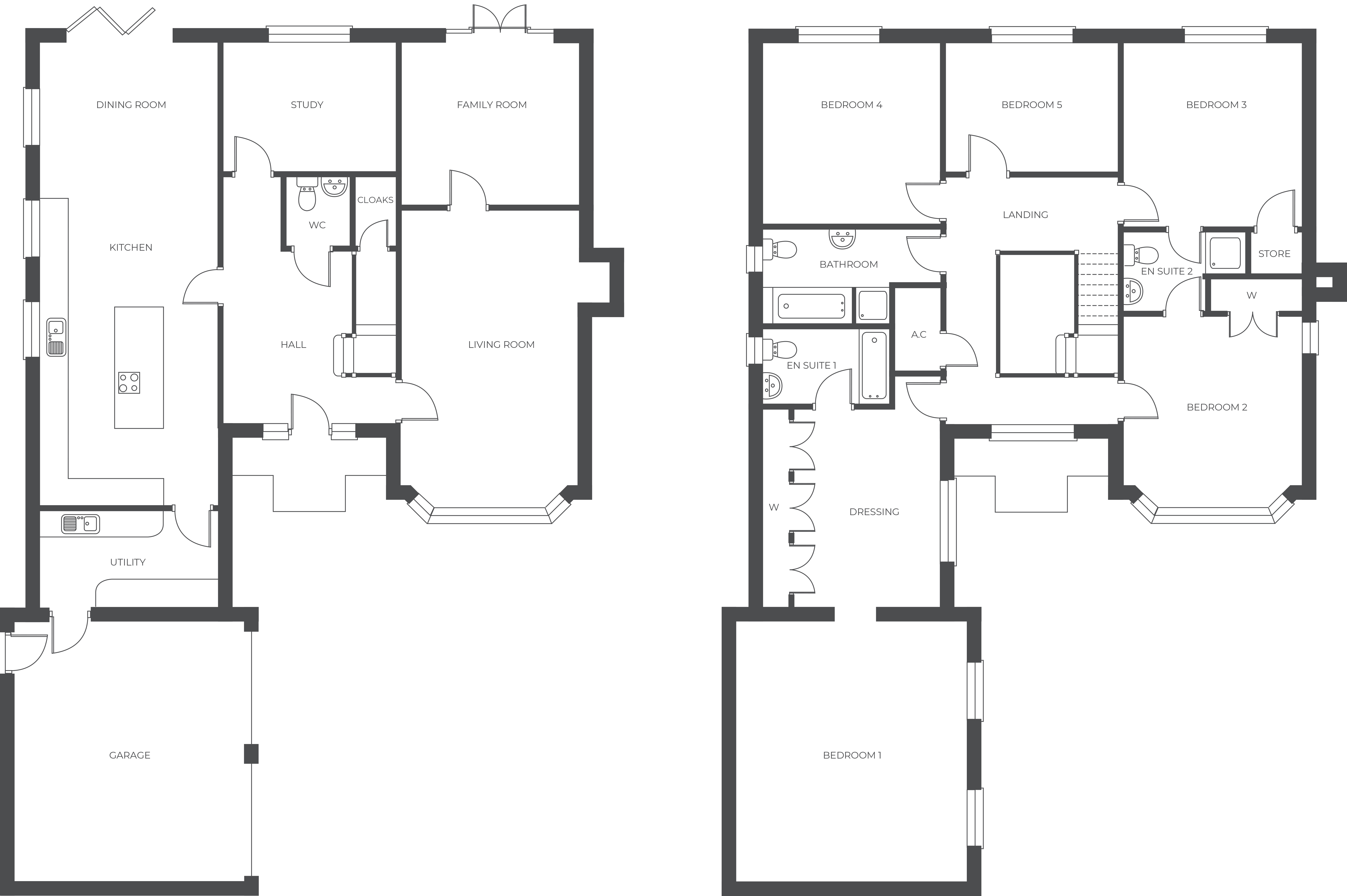 The Meadows, Plot 3 floor plan