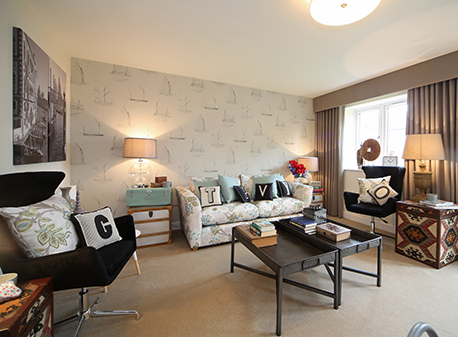 Make yourself comfortable: Walton Homes markets fully furnished Showhomes image