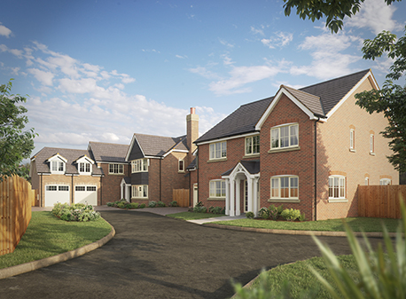 Walton Homes announces exclusive three home development close to Burton-Upon-Trent image