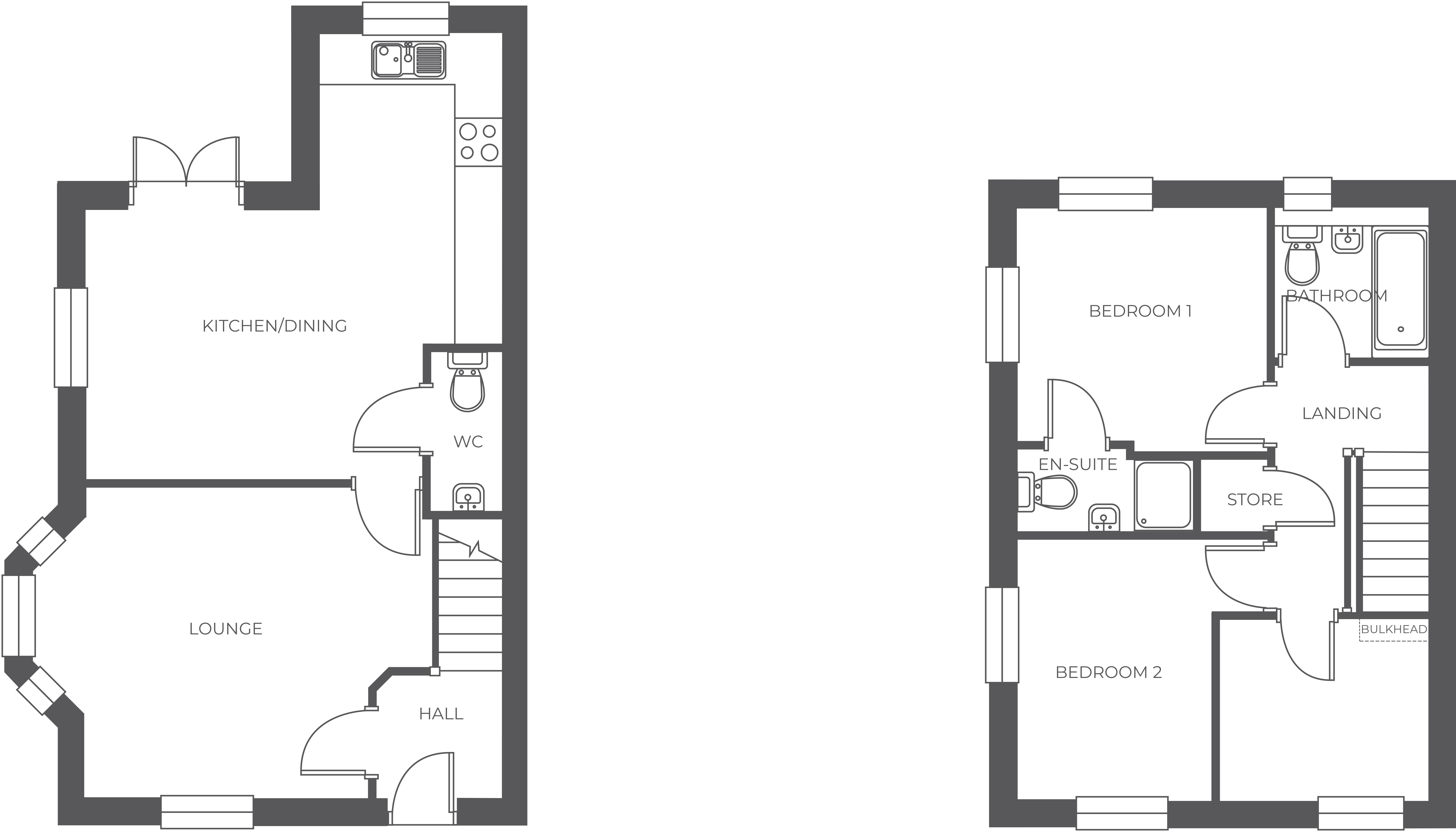 Ferrer's Chase, Plot 26 floor plan