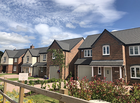Luxury Homes Development in Rugeley Close to Full Occupation image