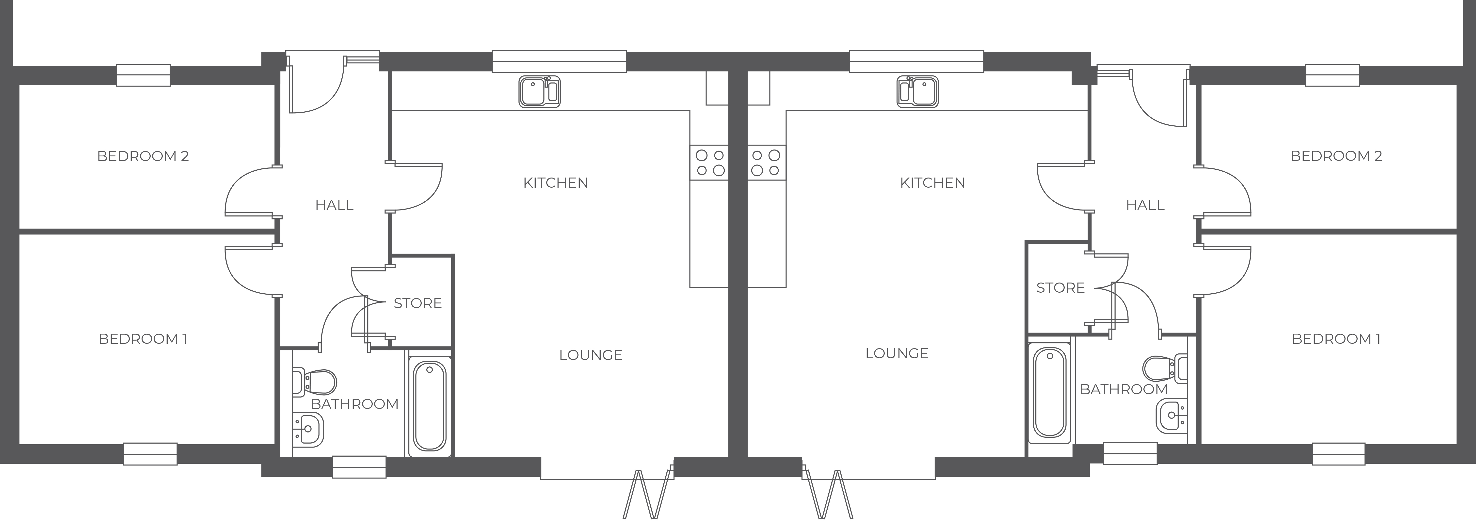 Copperfields, Plot 1 floor plan