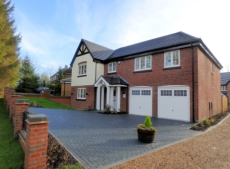 Work now completed on three-home development in Burton-on-Trent! image