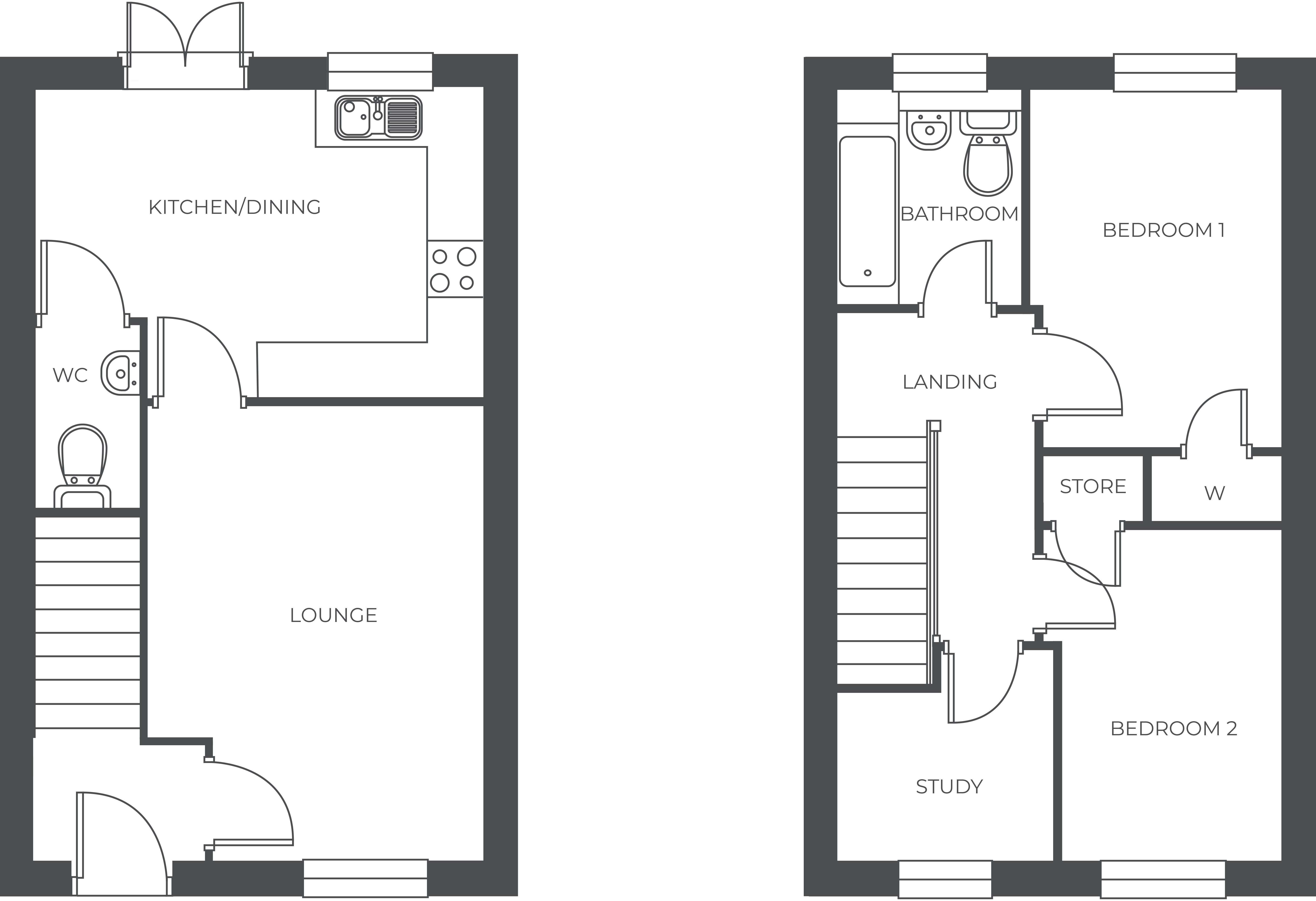 Acresford Park, Plot 10 floor plan