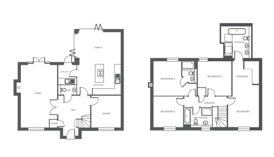 Wellswood Grange, Plot 2 floor plan