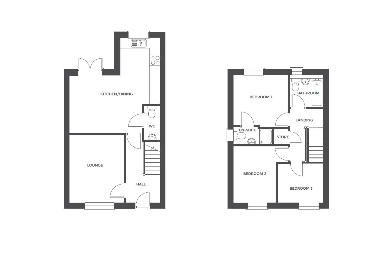 Acresford Park, Plot 53 floor plan