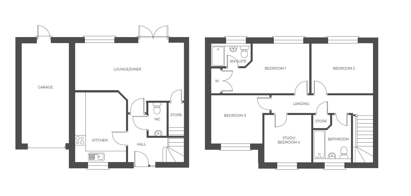 Acresford Park, Plot 49 floor plan