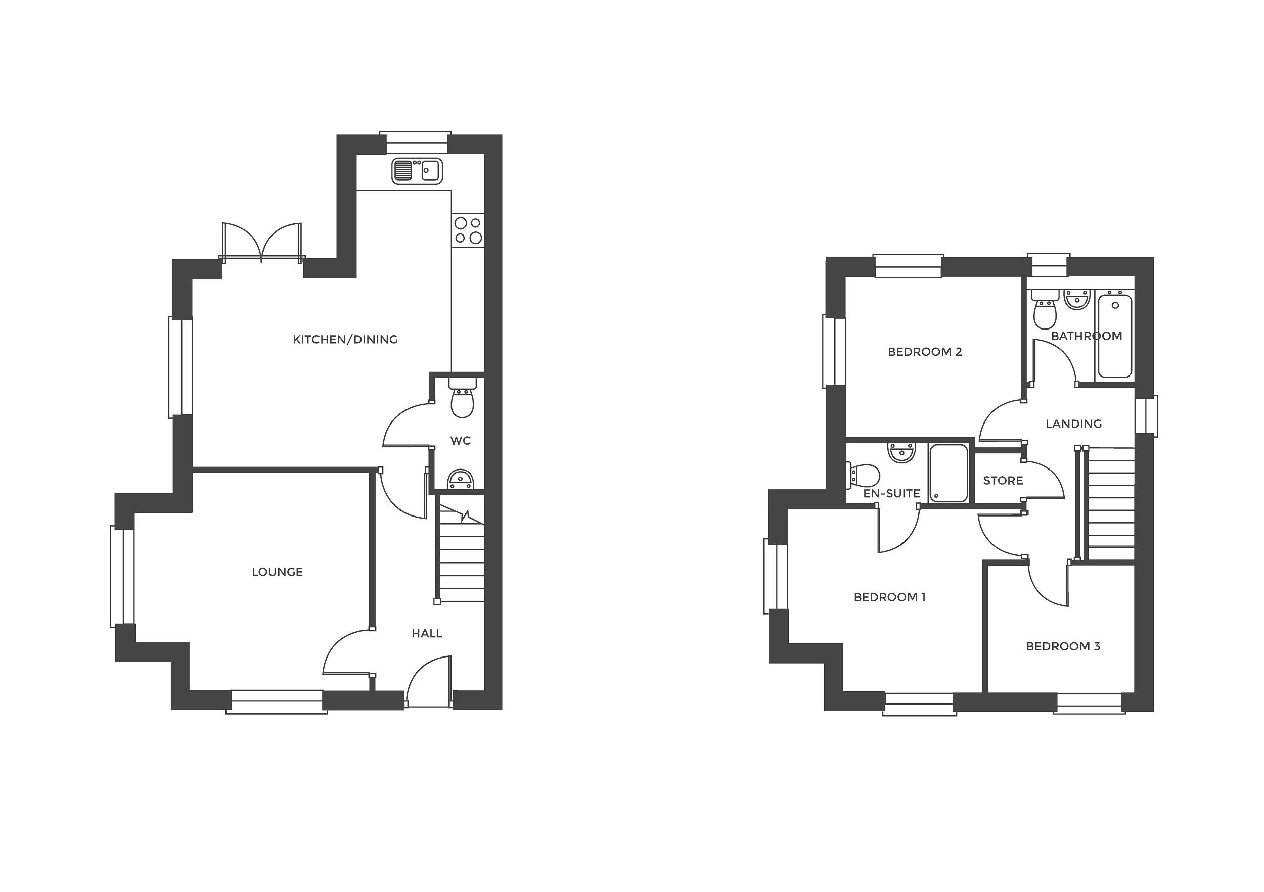 Acresford Park, Plot 35 floor plan